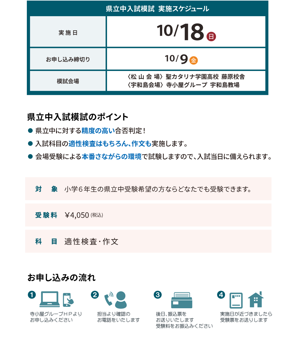 県立中入試模試